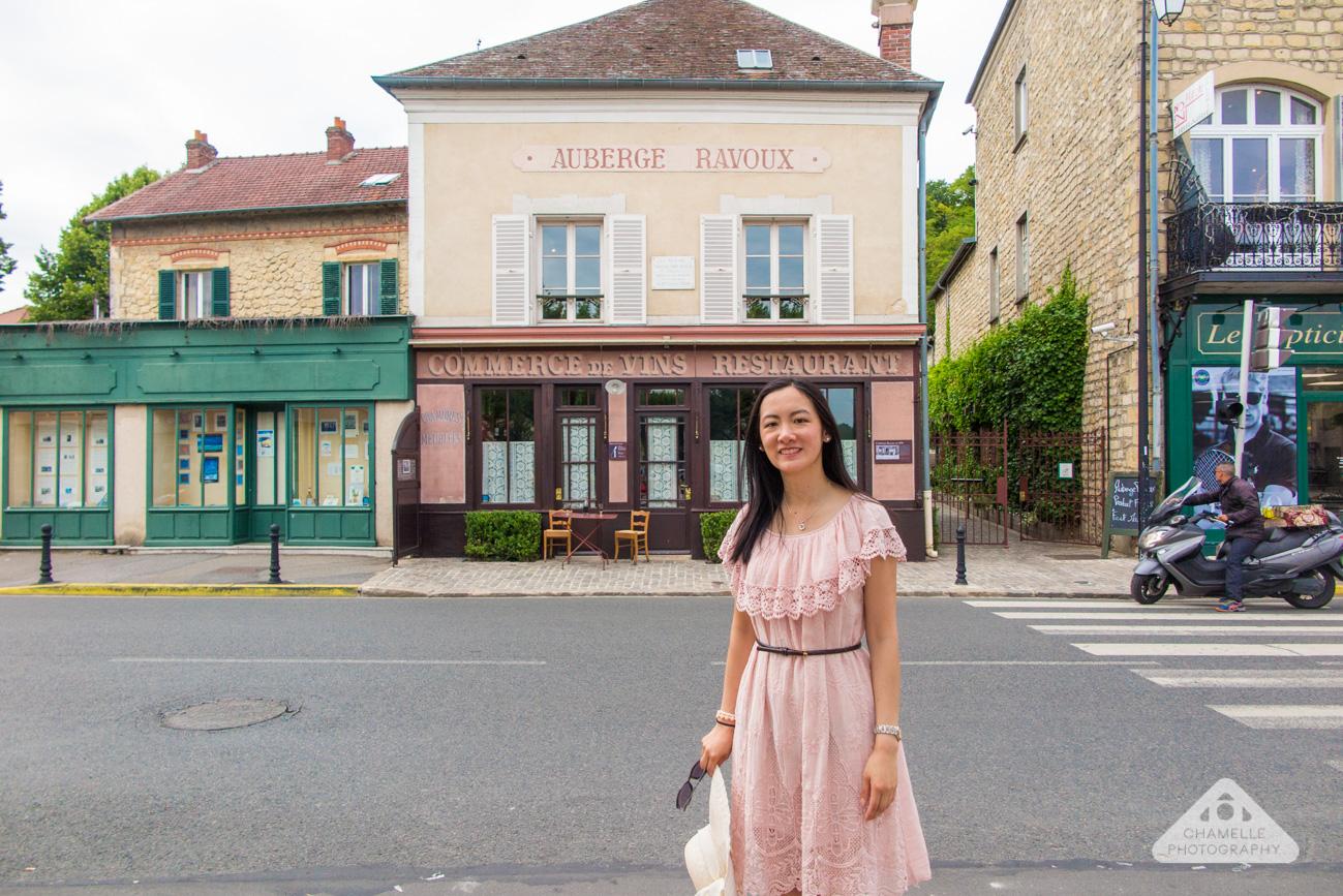 Vincent Van Gogh Trail Paris Auvers-sur-Oise France Chamelle travel blog auberge ravoux